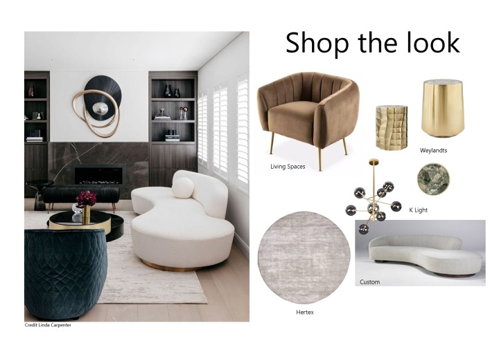 Luxury Living- Shop the look